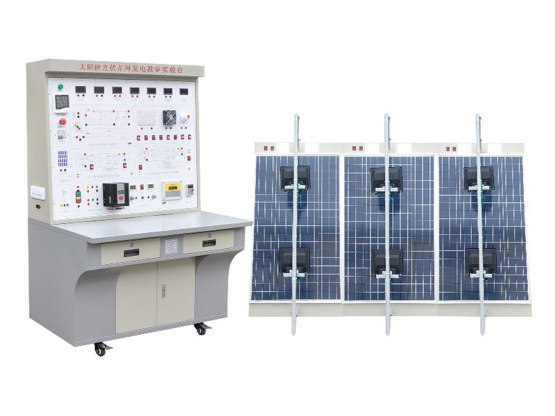 ZL-PVT06太阳能光伏并网发电教学实验台(12V)